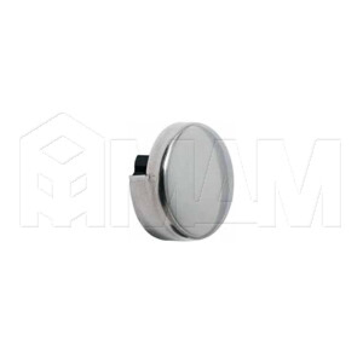 Зеркало- и стеклодержатели - Крепление зеркала 4-6 мм, к стене, D36, хром