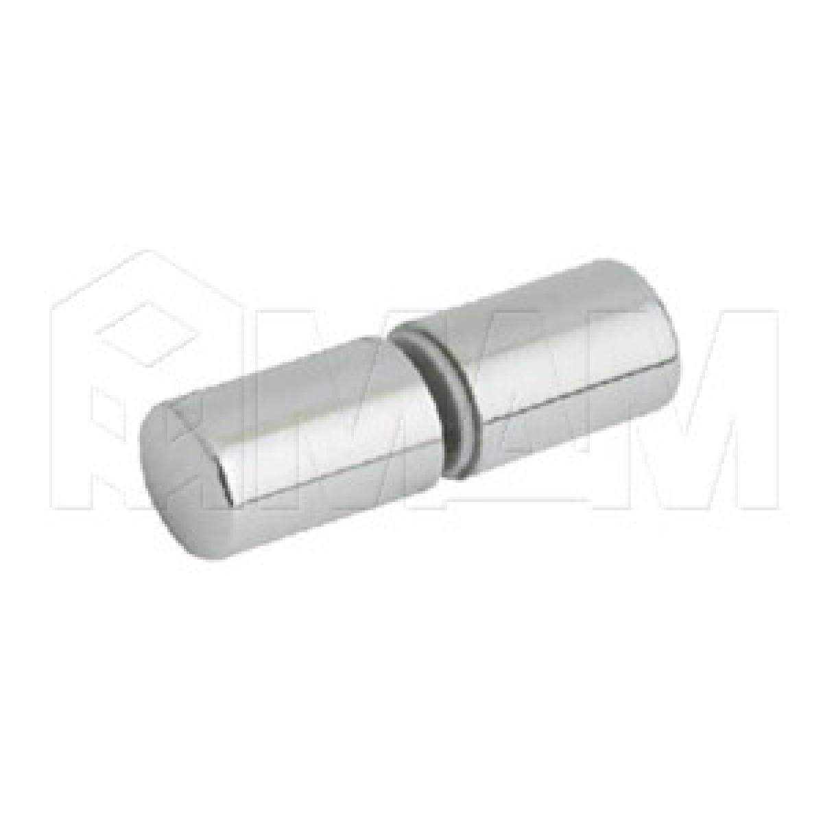 Полкодержатель двухсторонний, хром (пластик)