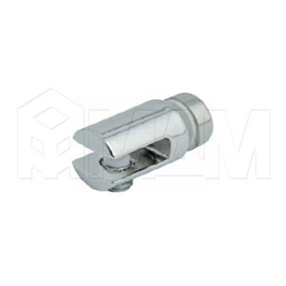 Полкодержатели - Полкодержатель для стекла 5-6 мм односторонний, хром
