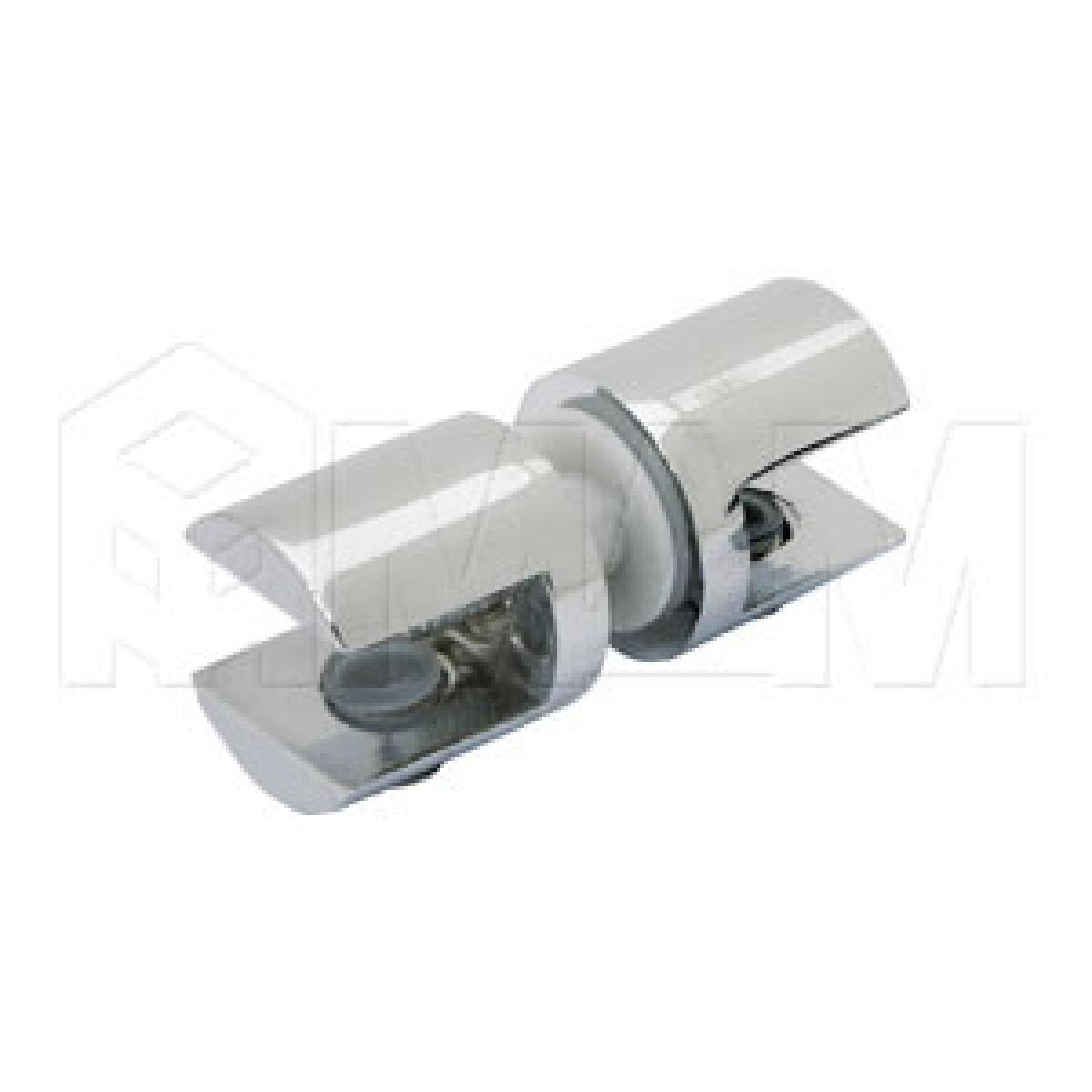 Полкодержатели - Полкодержатель для стекла 8-10 мм двухсторонний, хром