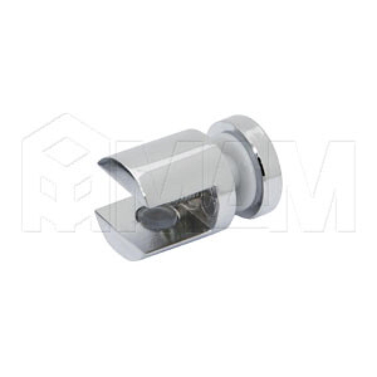 Полкодержатели - Полкодержатель для стекла 8-10 мм односторонний, хром