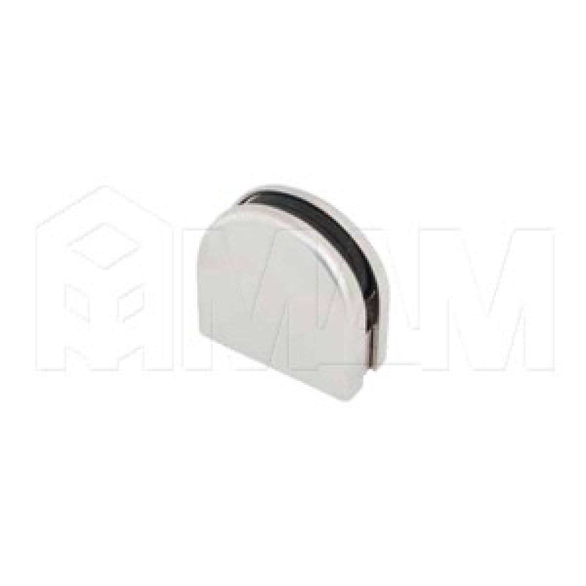 Коннекторы - Коннектор ДСП-стекло, никель матовый
