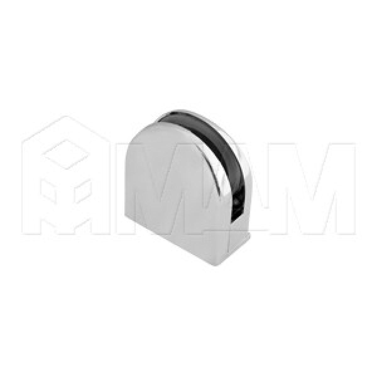 Коннекторы - Коннектор ДСП-стекло 8-12 мм, хром