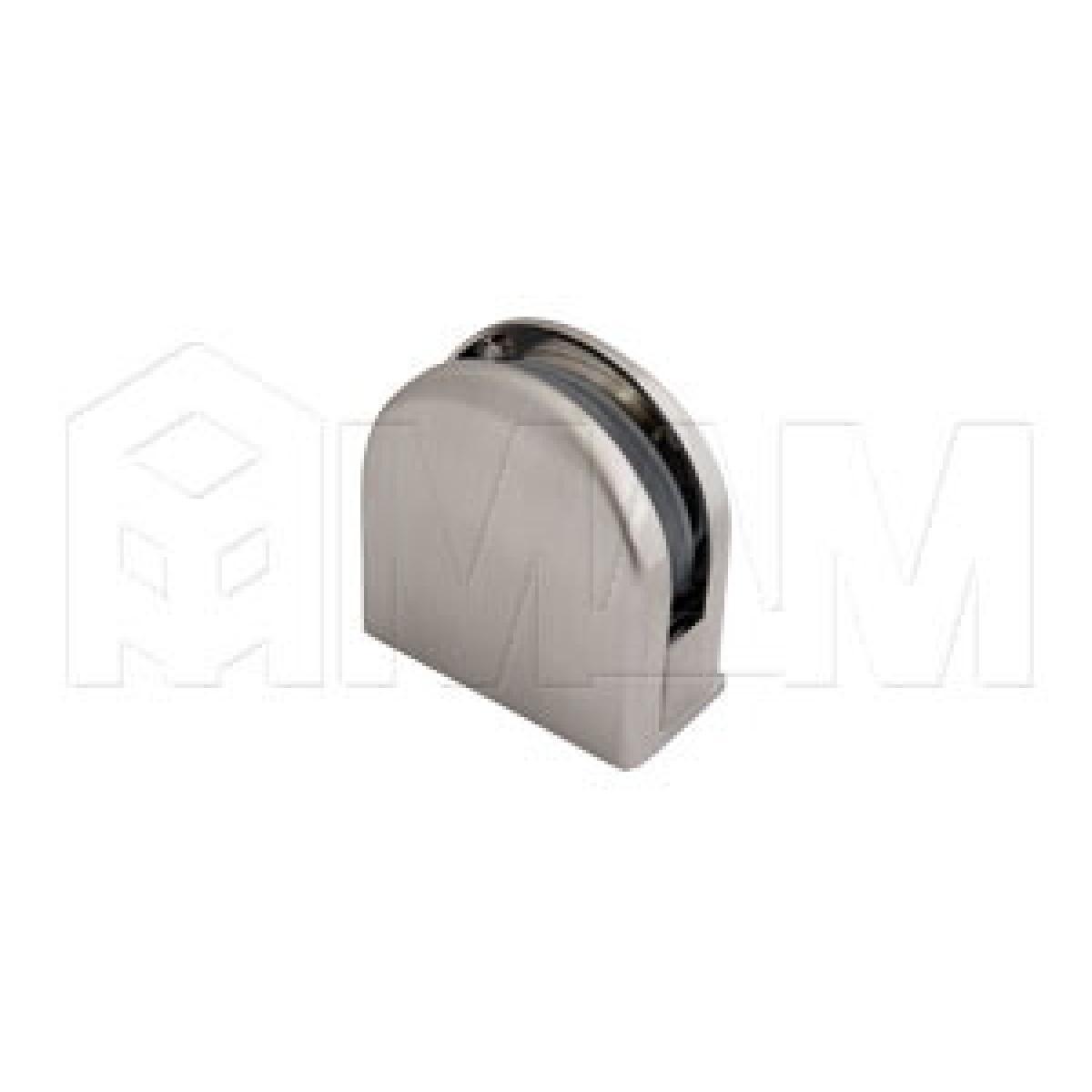 Коннекторы - Коннектор ДСП-стекло 8-12 мм, никель сат.