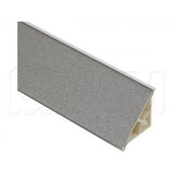 Плинтус пластиковый треугольный L=3м, матовый