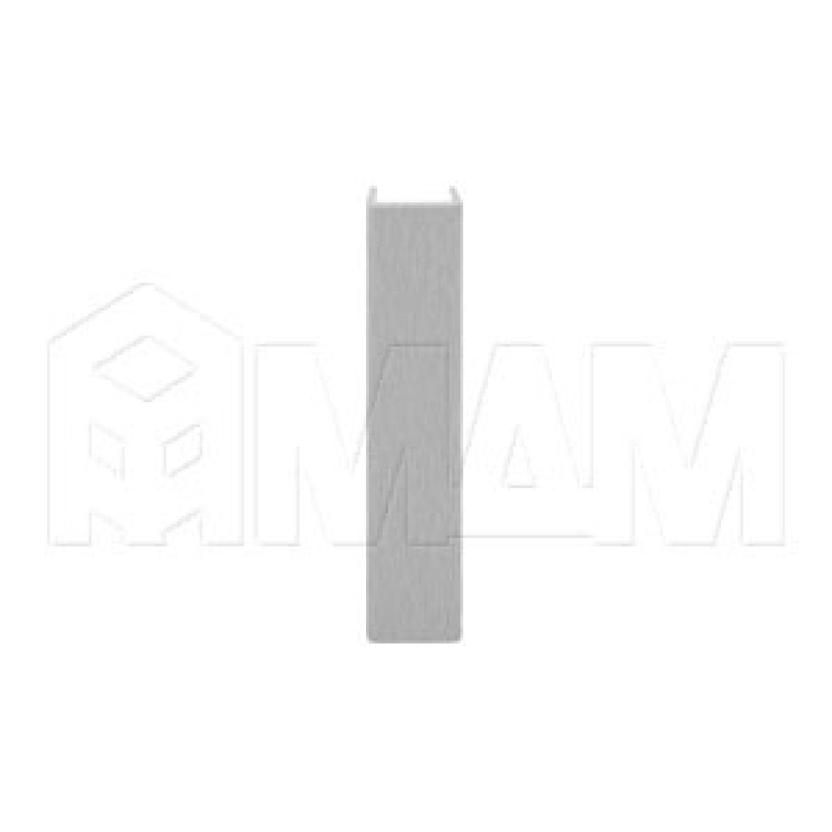 Цоколи пластиковые - Конечный элемент (высота 100), нержавеющая сталь