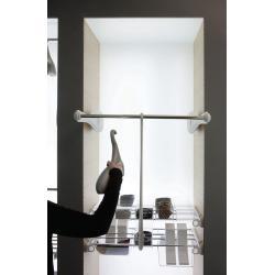 Лифт ONLY для одежды 60-119 см с нагрузкой до 12 кг. серый