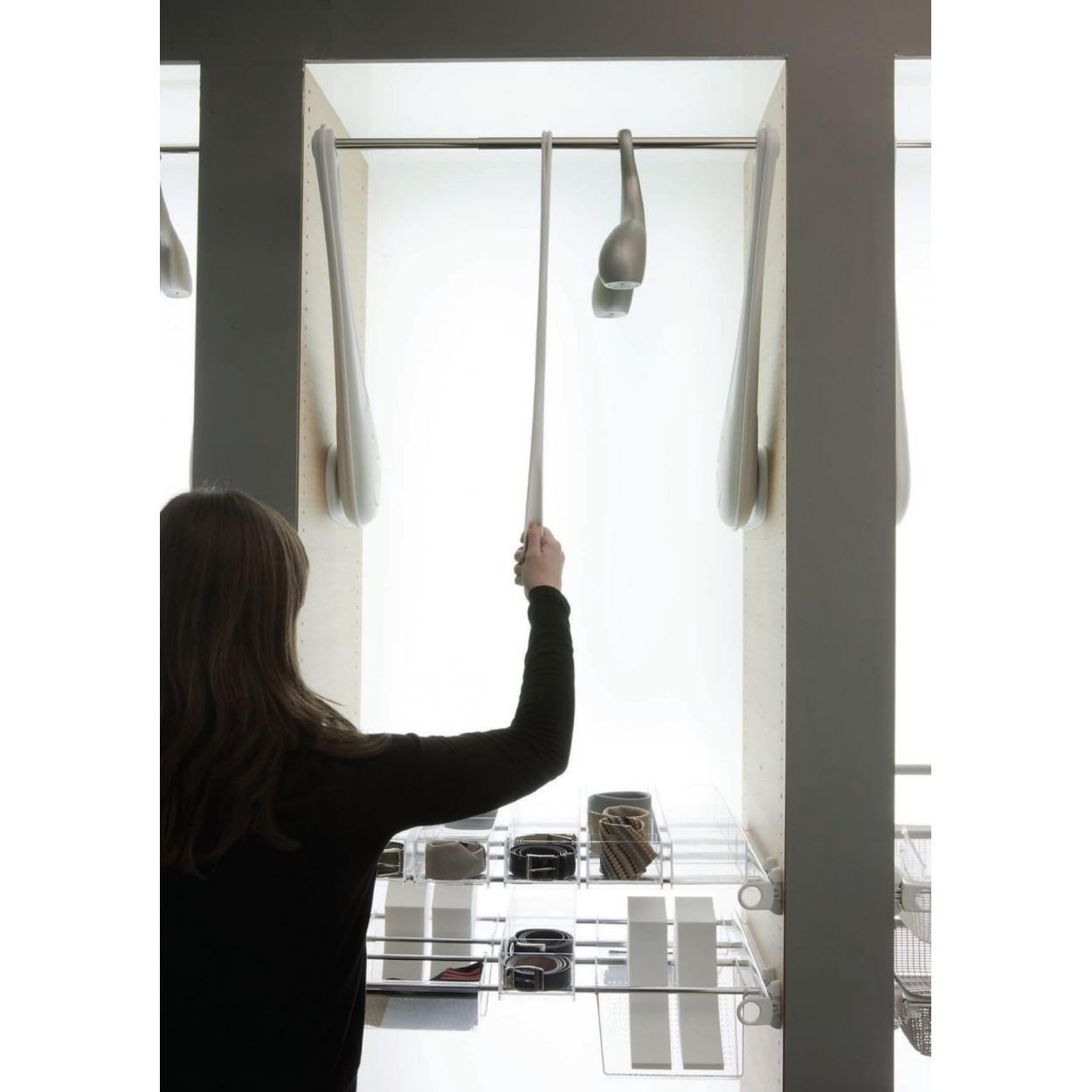 Лифт ONLY для одежды 60-119 см с нагрузкой до 12 кг. белый