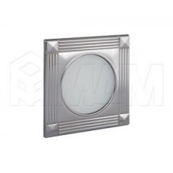 APSLEY Точечный светильник квадратный, никель, 12V, теплый белый 3000К, 3W