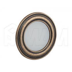PASSEPARTOUT Точечный светильник круглый, золото состаренное, 12V, теплый белый 3000К, 3W