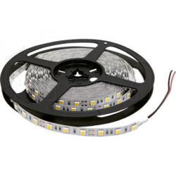 Лента светодиодная 5050/60, 24V, 5 м, теплый белый 3200К, IP33, 14.4W/1м