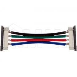 Коннектор 10мм, для RGB, провод 50см