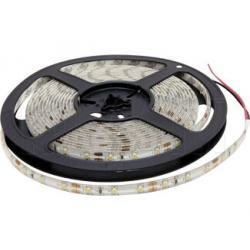Лента светодиодная 3528/60, 12V, 5 м, теплый белый 3200К, IP65, 4.8W/1м