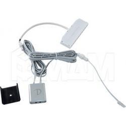 DOT IR Выключатель инфракрасный на преграду, накладной, цвет серебро, 12/24V, 36/72W