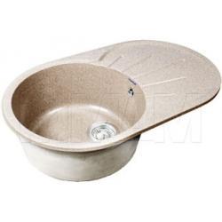 Мойки - RONDO 750L Мойка мрамор, песочный, 580х450, B450