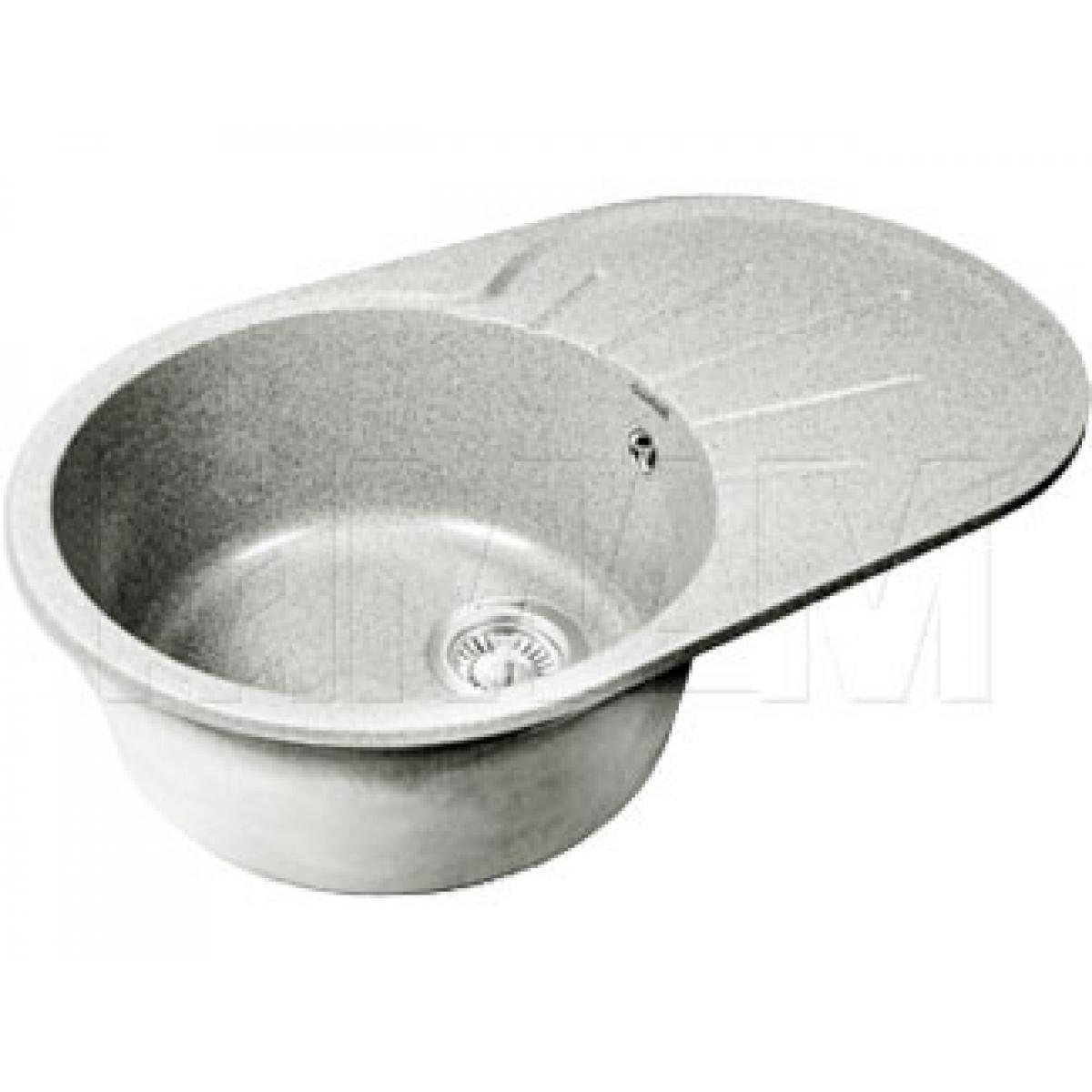 Мойки - RONDO 750L Мойка мрамор, серый, 580х450, B450