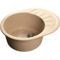 Мойки - RONDO 580L Мойка мрамор, песочный, 580х450, B450