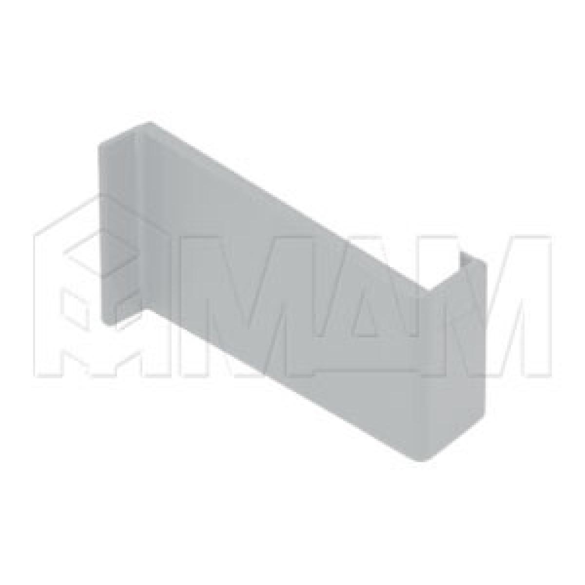 806 Заглушка для мебельного навеса, пластик, белая, левая