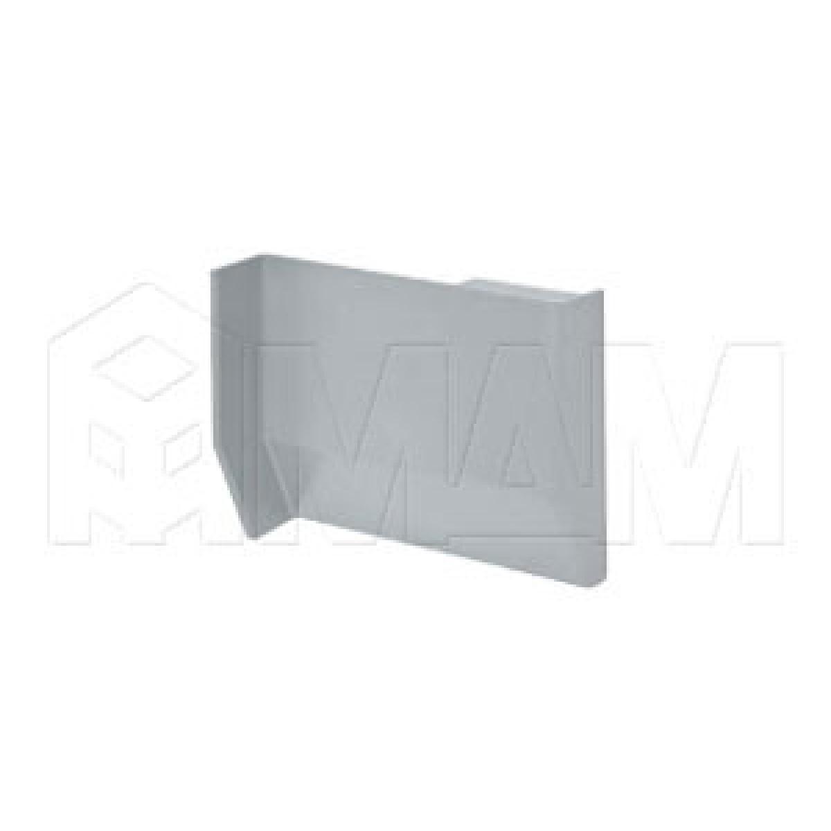 801 Заглушка для мебельного навеса, пластик, серая, левая