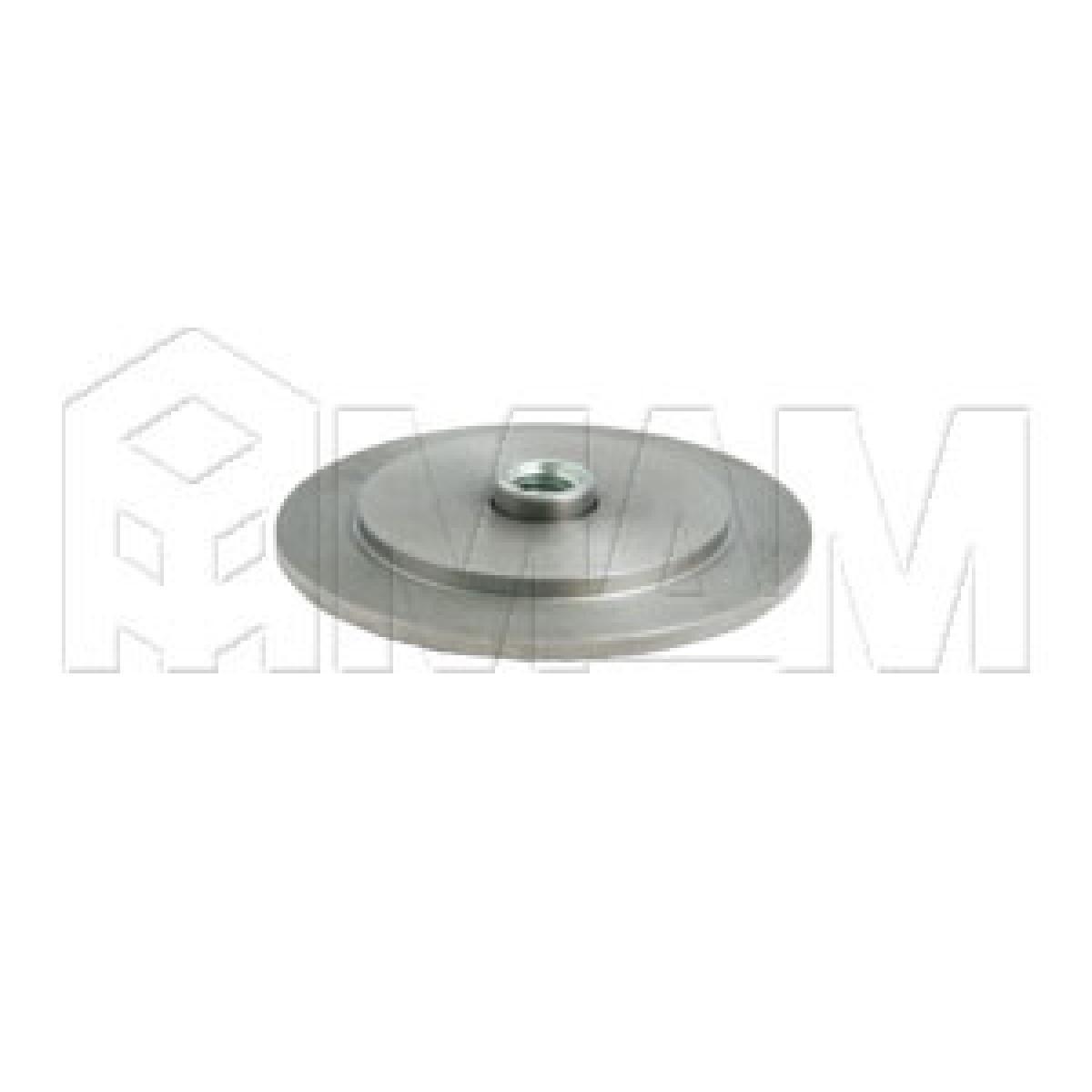 Элемент для клейки стекла на трубу d 50 без винта сталь