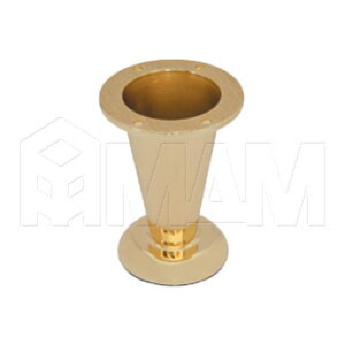 Опора декоративная Н103мм золото