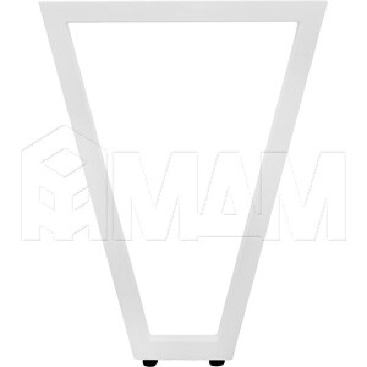 Опора для стола V-образная, 40х40, H720+5мм, хром вулканический, 1шт.