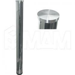 Опора для стекла, D60, H710+25 мм, хром, 4шт.