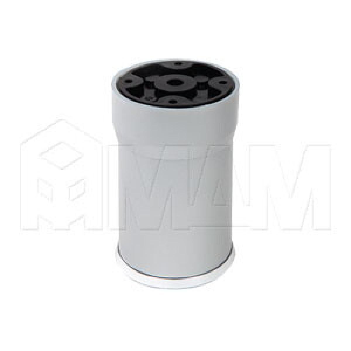 Опора декоративная D56мм, Н100+27мм хром матовый/хром