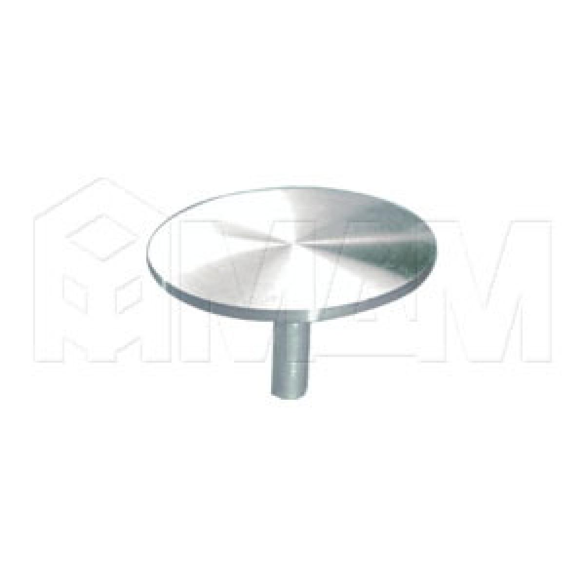 Элемент для клейки стекла на трубу d 50 с винтом М10 сталь