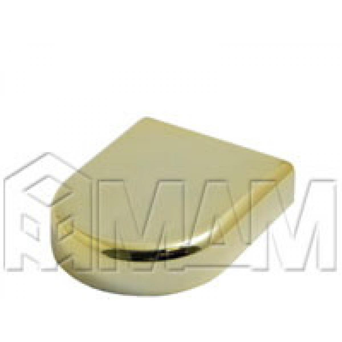 Петли Стеко/Зеркало - Заглушка декоративная Mini 12 D-образн., золото