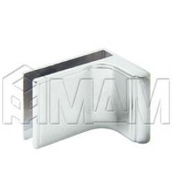 Специальные петли - Ручка для стекл. двери с петлями D/13, хром