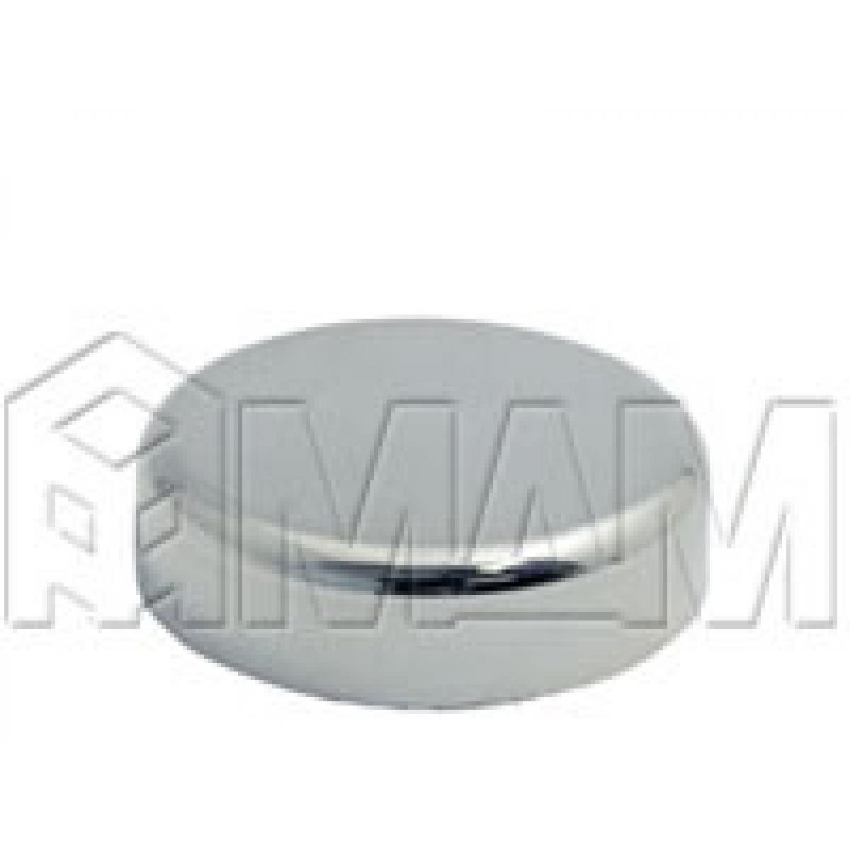 Петли Стеко/Зеркало - Заглушка декоративная Mini 12 круглая, хром