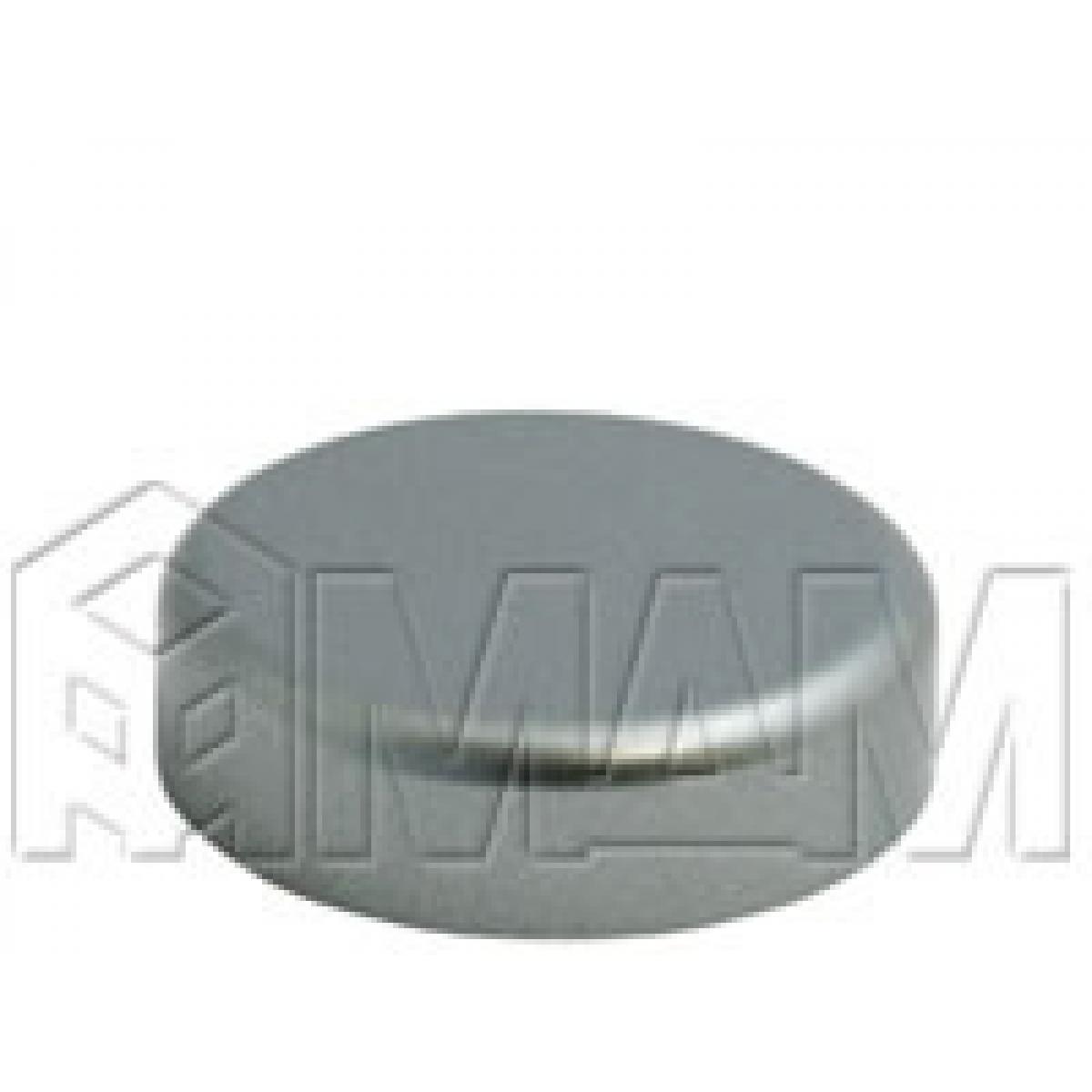 Петли Стеко/Зеркало - Заглушка декоративная Mini 12 круглая, хром матовый
