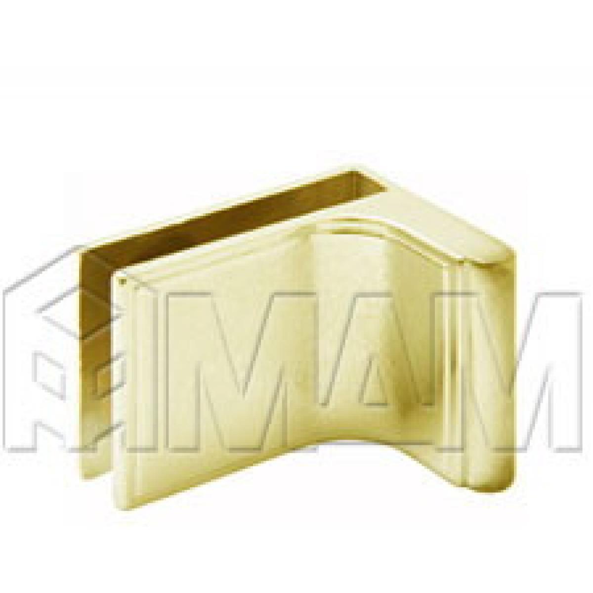 Специальные петли - Ручка для стекл. двери с петлями D/13, золото