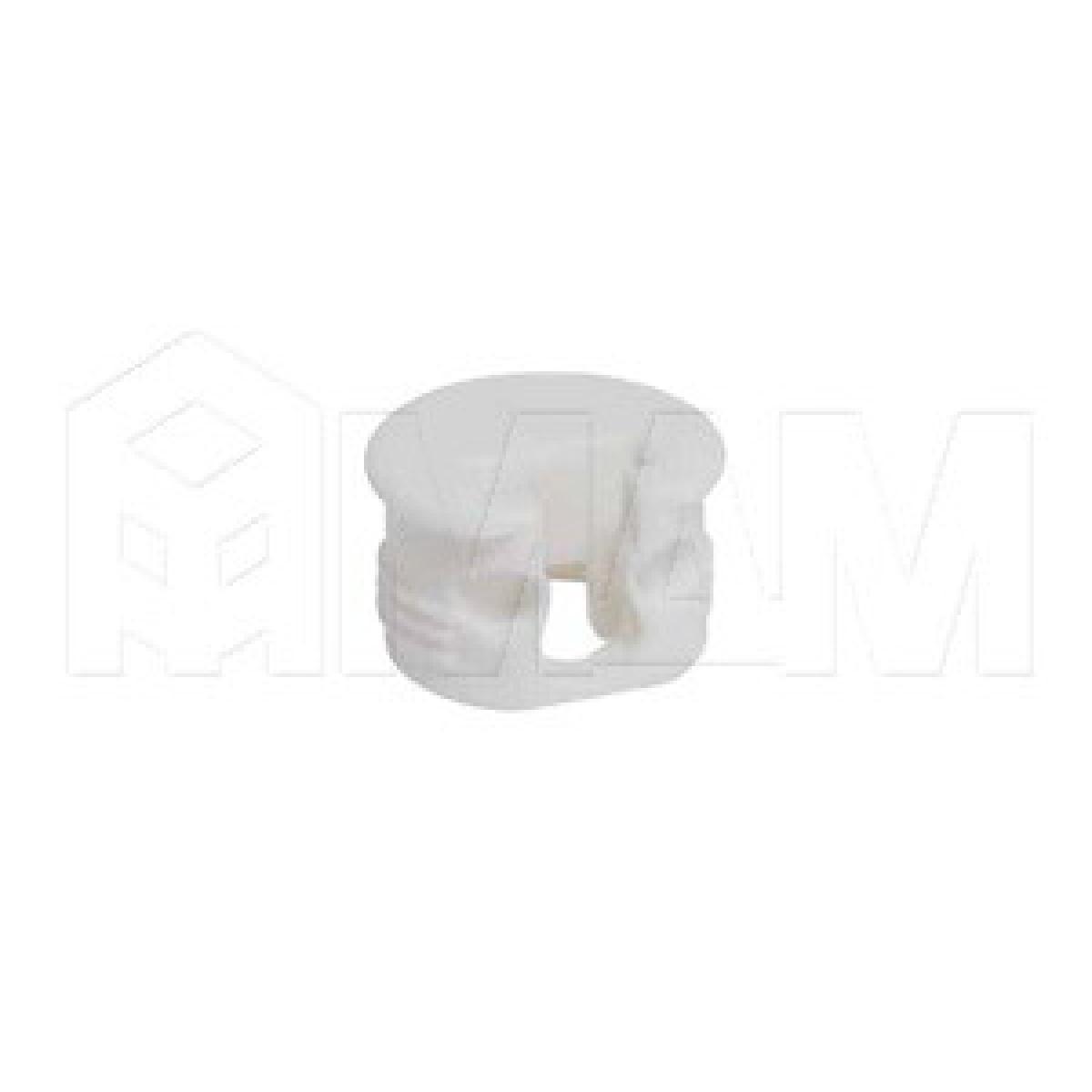 SI03 Полкодержатель для деревянных полок с фиксацией, белый