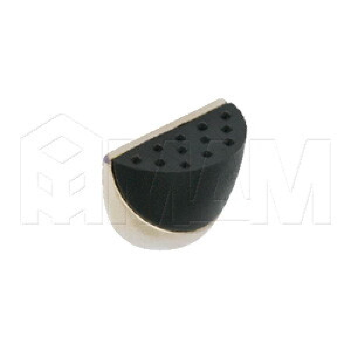 Полкодержатель DUO (никель/черный)