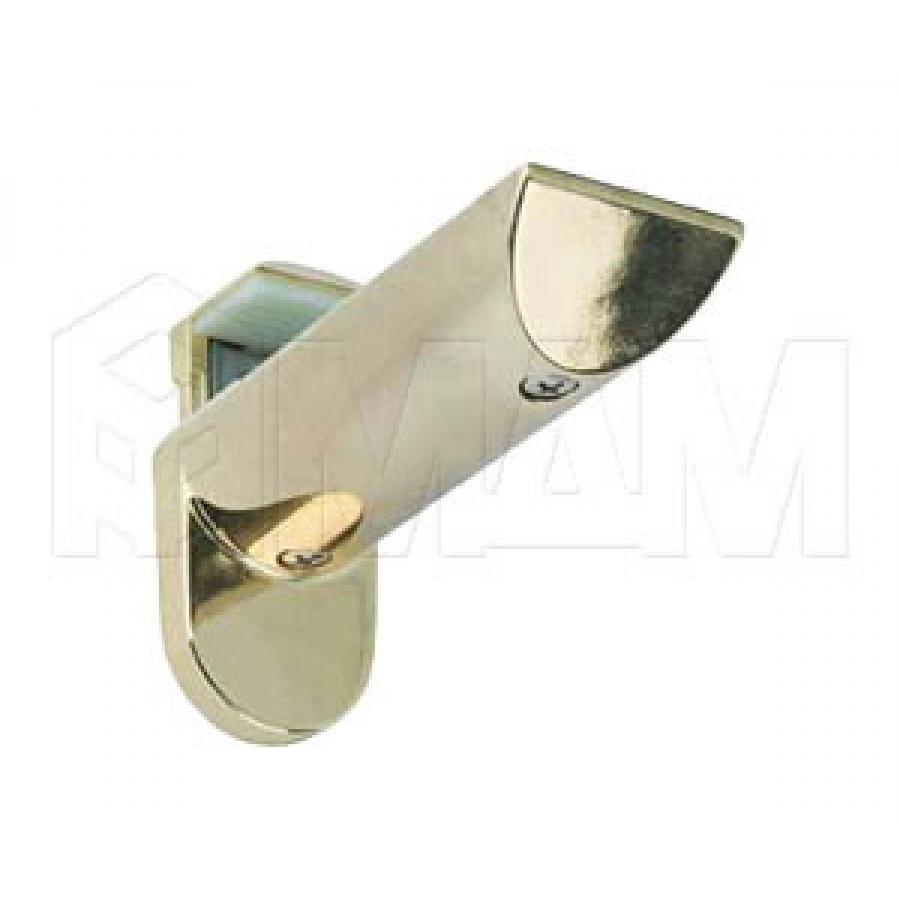KAIMAN Менсолодержатель для деревянных и стеклянных полок 7 - 41 мм, золото (2 шт.)