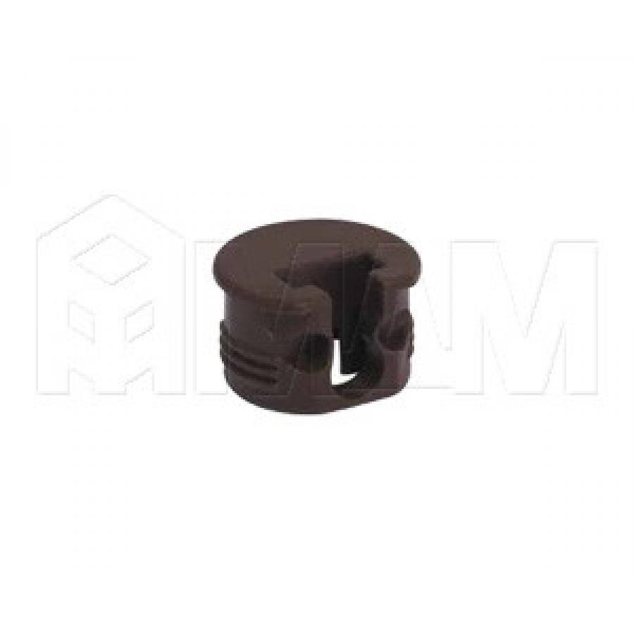 SI03 Полкодержатель для деревянных полок с фиксацией, коричневый