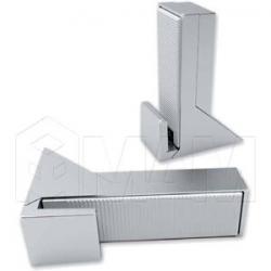 KALABRONE MAXI Менсолодержатель для деревянных полок 25 - 50 мм, хром матовый (2 шт.)