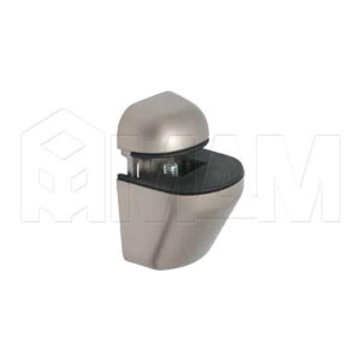 ПЕЛИКАН Менсолодержатель для деревянных и стеклянных полок 4 - 22 мм, никель матовый