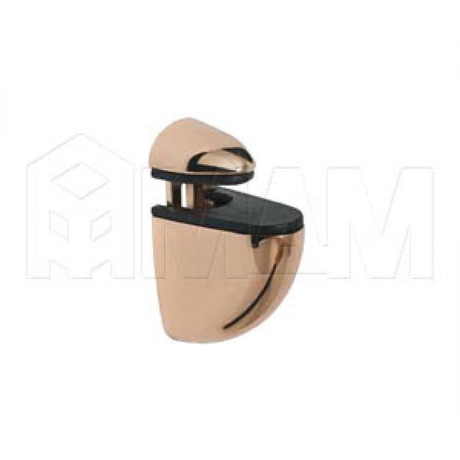 ПЕЛИКАН Менсолодержатель для деревянных и стеклянных полок 4 - 20 мм, золото
