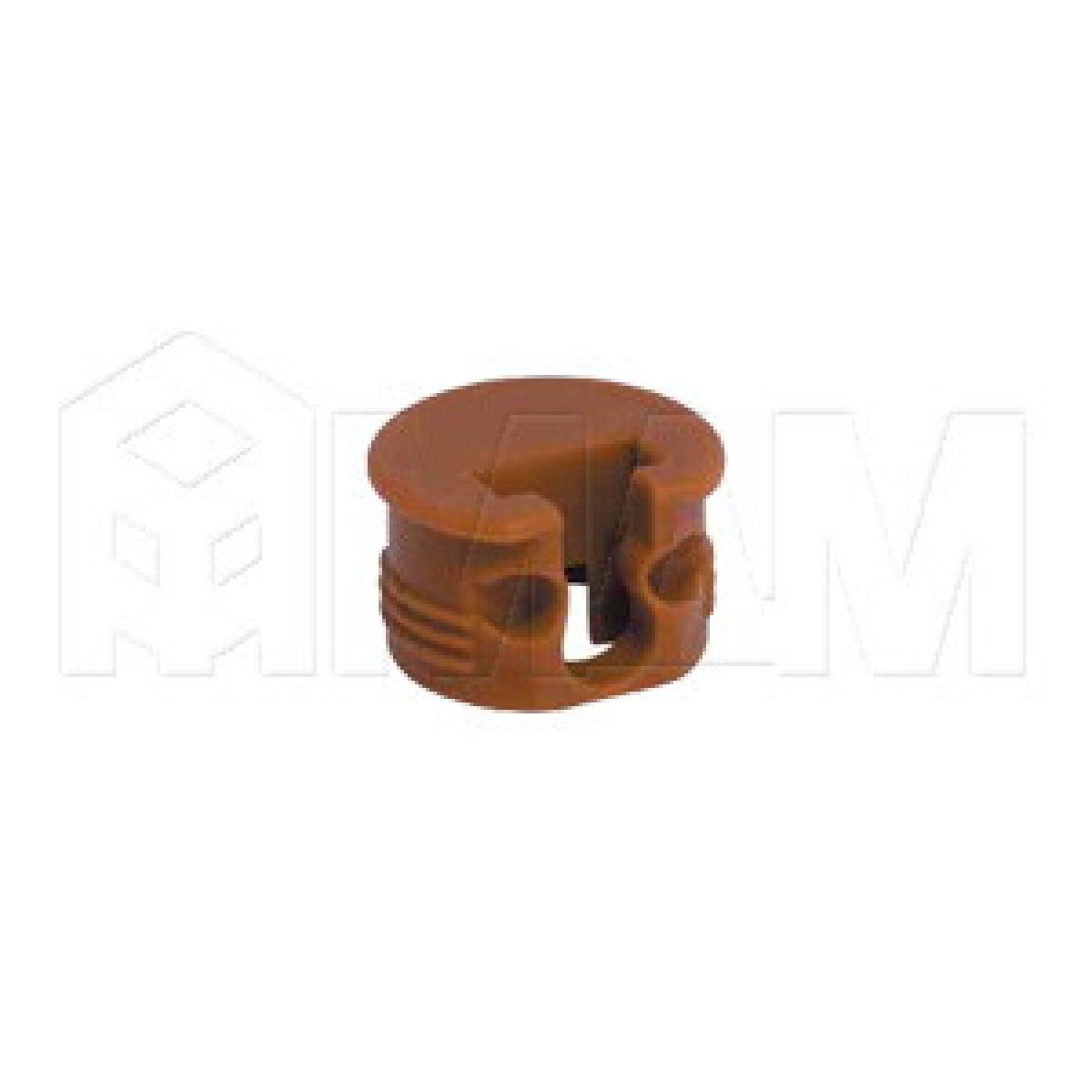SI03 Полкодержатель для деревянных полок с фиксацией, вишня