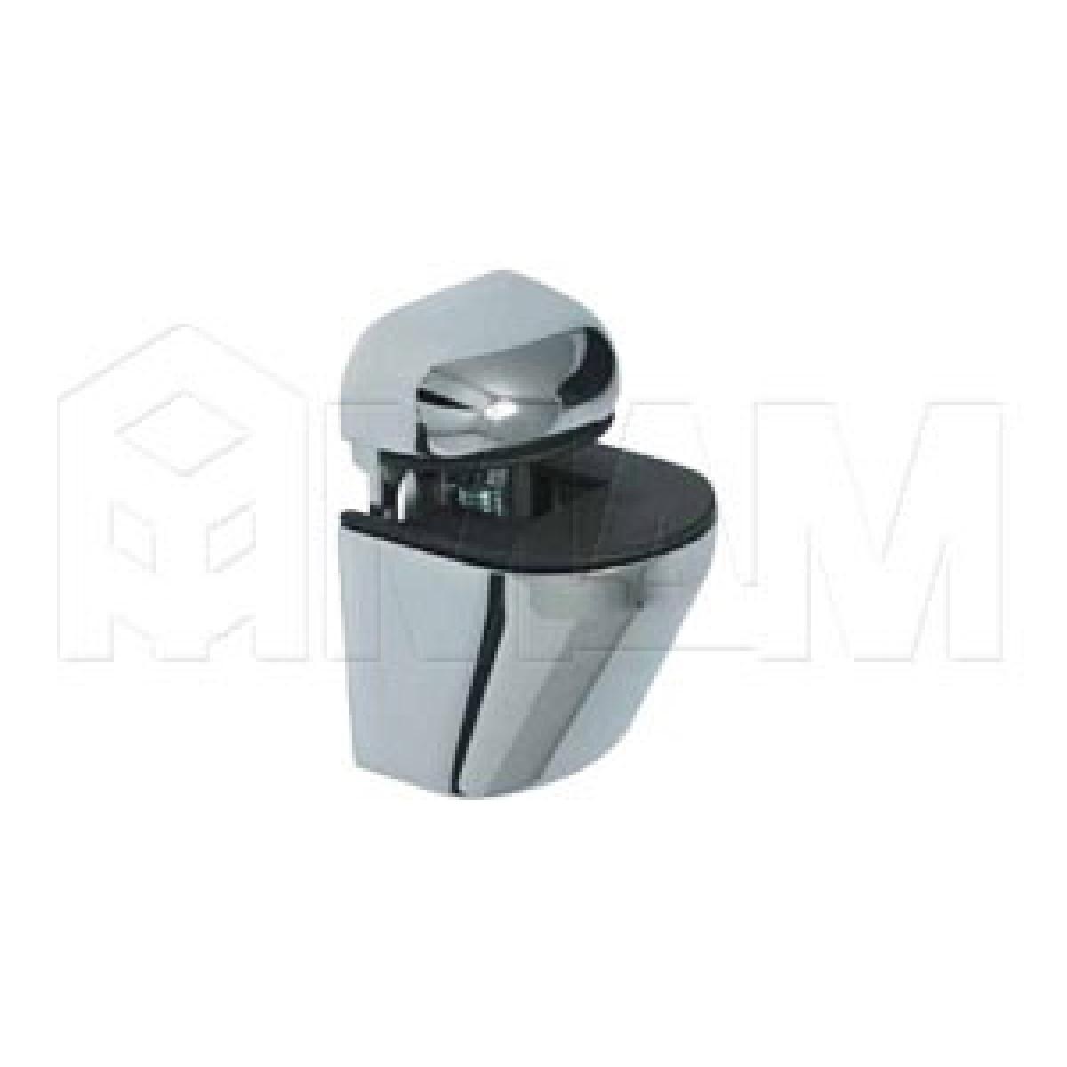 ПЕЛИКАН Менсолодержатель для деревянных и стеклянных полок 4 - 22 мм, хром