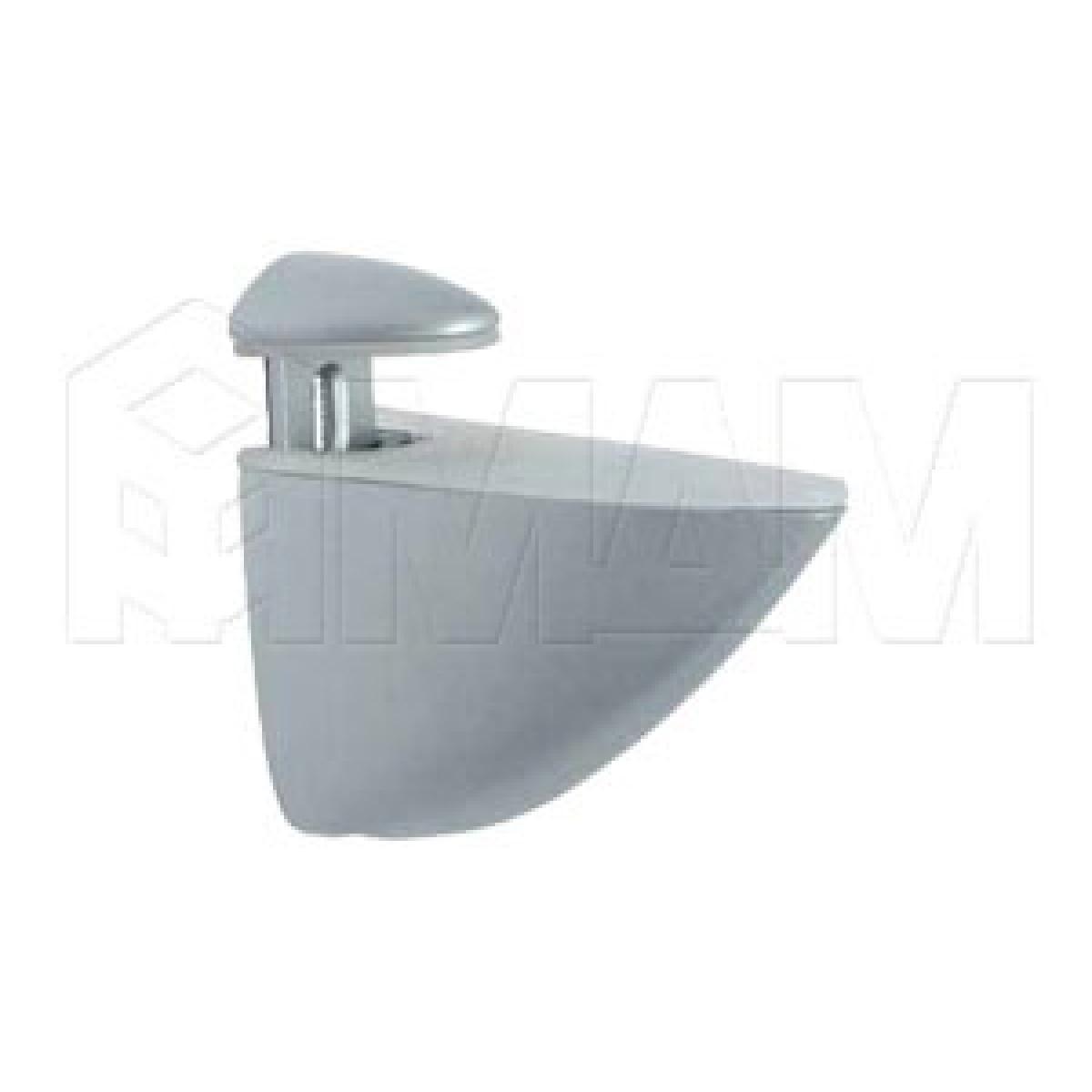 ПЕЛИКАН Менсолодержатель для деревянных и стеклянных полок 4 - 40 мм, хром матовый