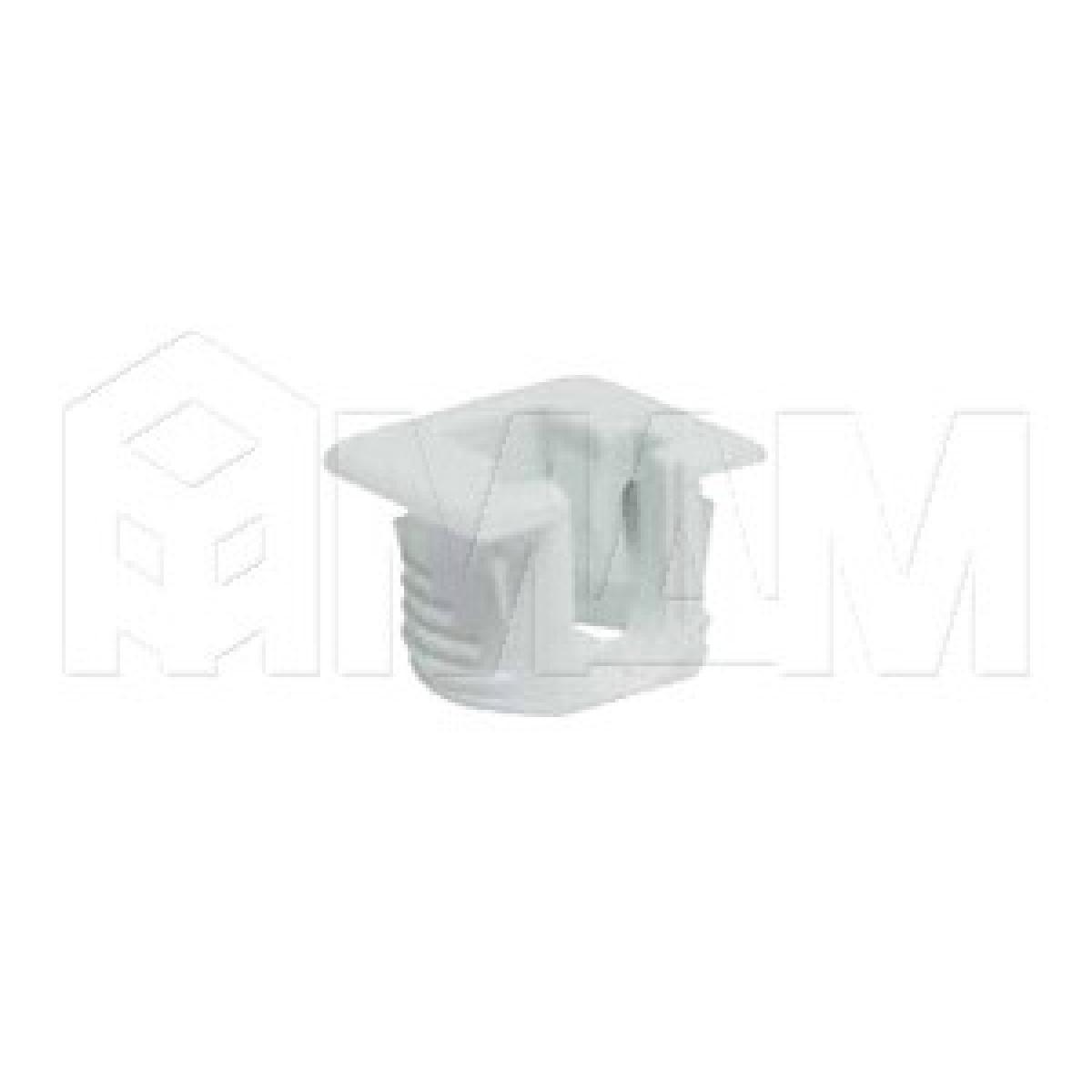 FLIPPER Полкодержатель для деревянных полок с фиксацией, белый