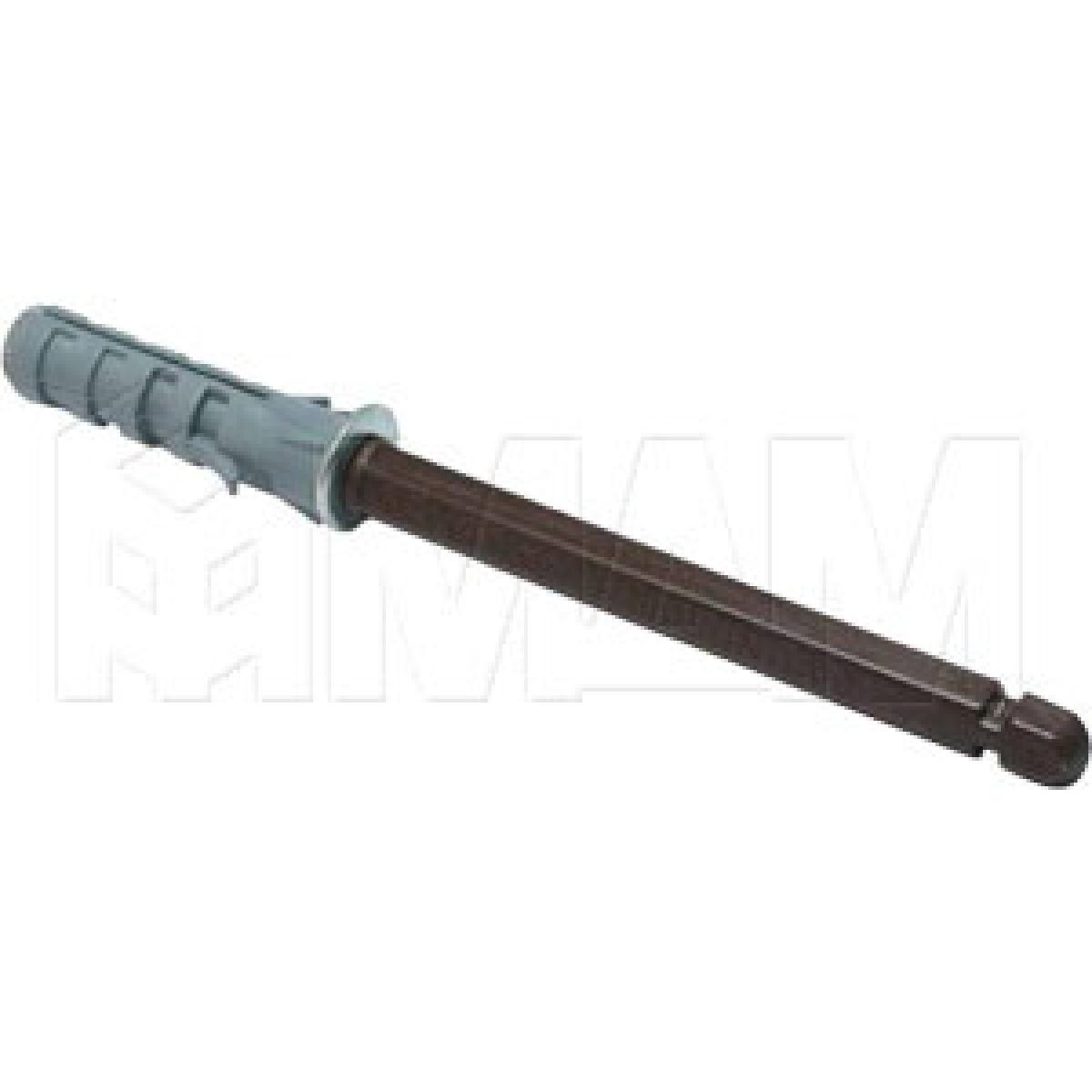 Скрытый менсолодержатель для деревянных полок толщиной от 16 мм