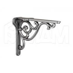 ROME Менсолодержатель для деревянных полок L-150 мм, серебро состаренное