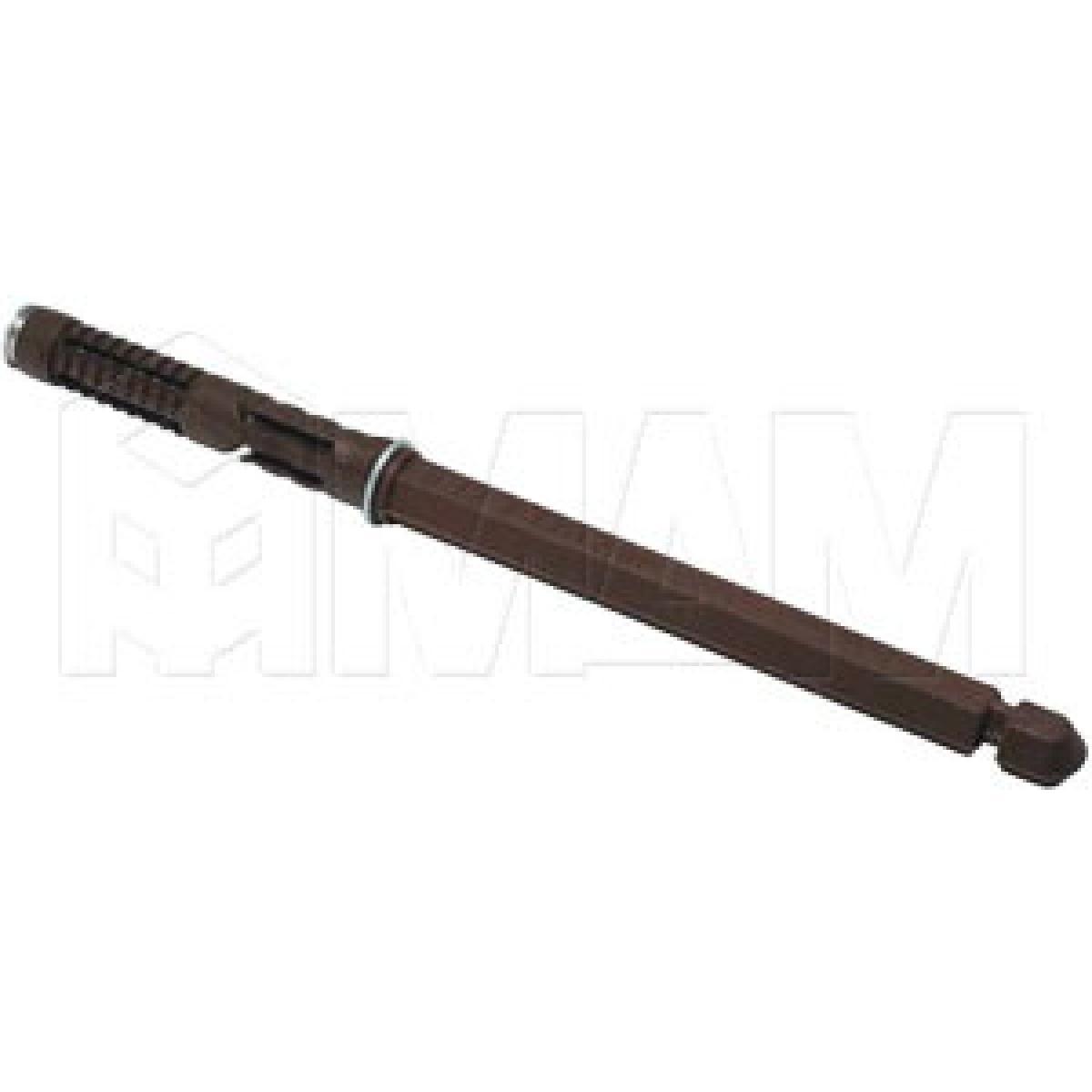 Скрытый менсолодержатель для деревянных полок толщиной от 18 мм