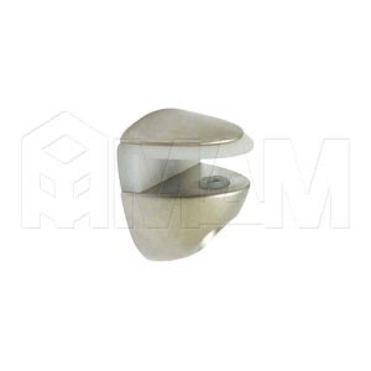 COBRA Полкодержатель никель для стекла 8мм