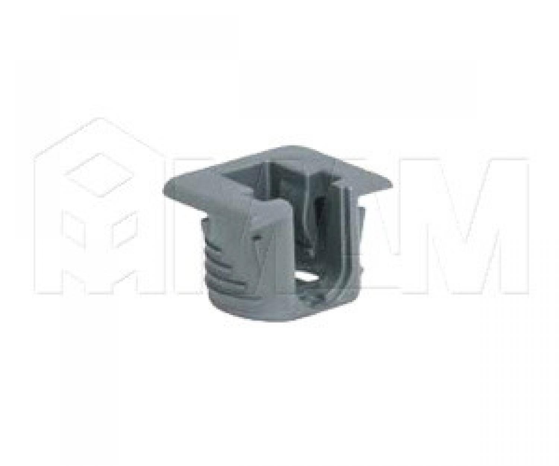 FLIPPER Полкодержатель для деревянных полок с фиксацией, серый